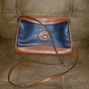 Vintage Leather  D& B Purse